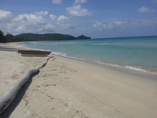 Tip of Borneo beach