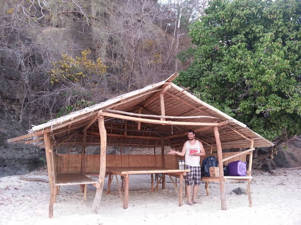 This was our 'cottage' on Inapupuan island.